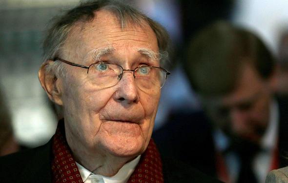 מת אינגבר קמפארד מייסד איקאה בגיל 91, צילום: רויטרס