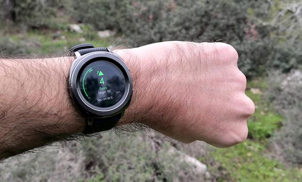 סמסונג גיר ספורט מחשוב לביש שעונים חכמים , צילום: ניצן סדן