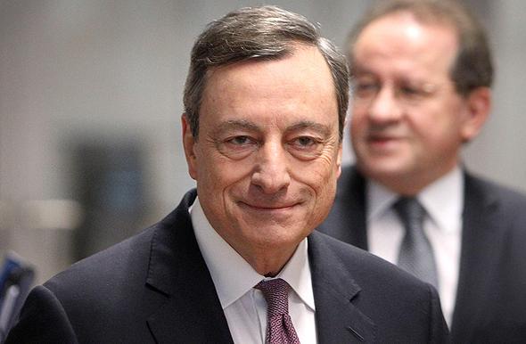 נגיד הבנק האירופי המרכזי מריו דראגי