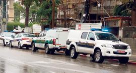 ניידות משטרה, צילום: דנה קופל