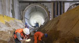 חפירת הרכבת הקלה אם המושבות פתח תקווה, צילום: שאול גולן