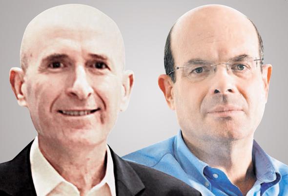 מימין: יאיר לפידות ודב ילין, מנהלי בית ההשקעות ילין לפידות. נכנסו למיטה חולה, צילומים: תומי הרפז