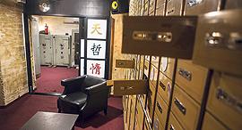הכסף חדר בריחה בתוך מועדון ה ג'ימי הו לשעבר בנק מרכנתיל דיסקונט, צילום: תומי הרפז