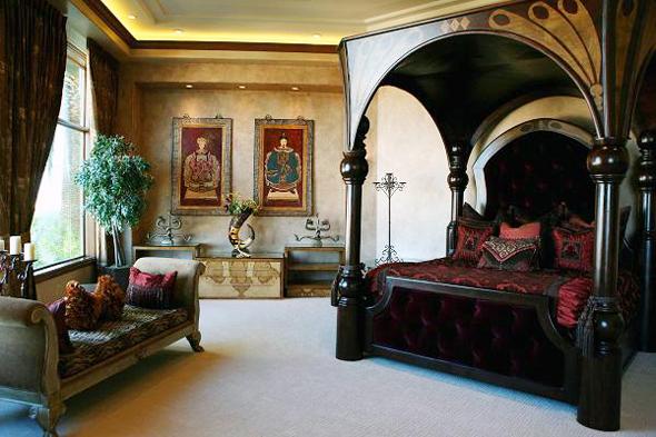 חדר השינה בבית בלאס וגאס, שעלה לקייג' 8.5 מיליון דולר