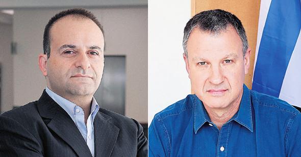 """יו""""ר ומייסד JVP אראל מרגלית ושותף כללי ב־JVP יואב צרויה"""