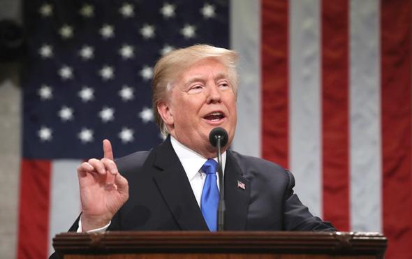 דונלד טראמפ נאום מצב האומה, צילום: איי אף פי