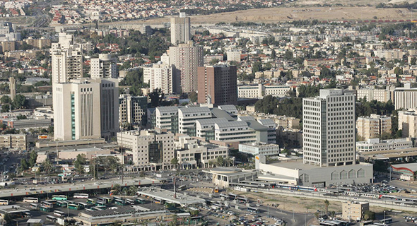 A panorama of Beersheva. Photo: Beersheva municipality