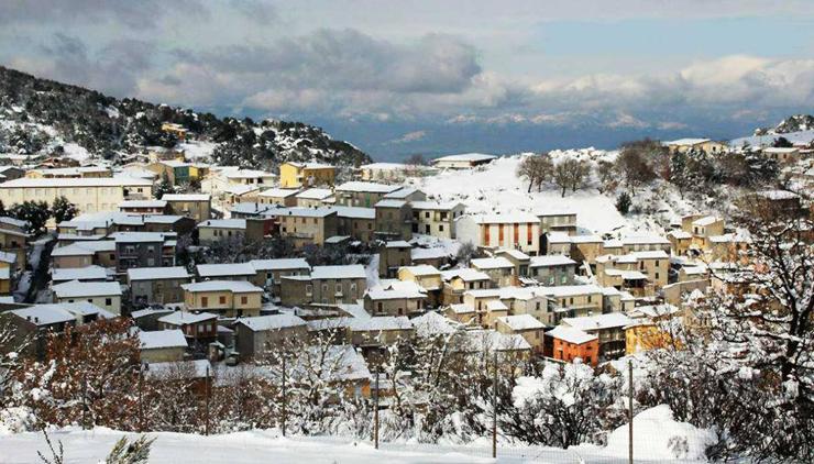 הכפר אולולאי בחורף