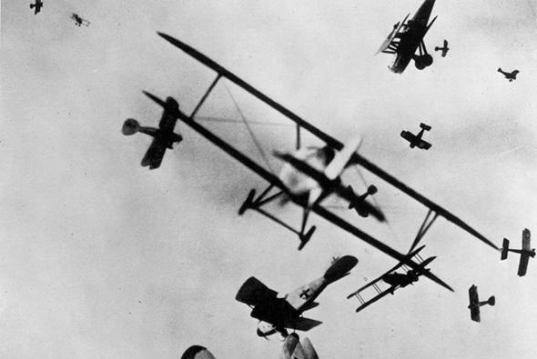 קרב אוויר המוני במלחמת העולם הראשונה