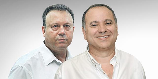 מימין: קובי מימון וחיים צוף, צילום:אוראל כהן, ישראל הדרי