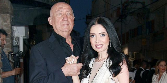ניקול ראידמן ובן זוגה לשעבר מיכאל צ