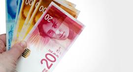 כסף מזומן שטרות שקלים שקל, צילום: שאטרסטוק