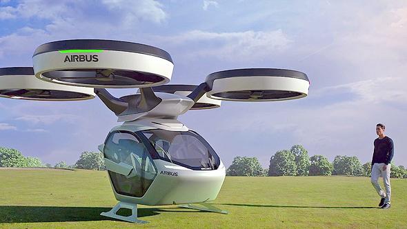 איירבוס איירבס מכונית מעופפת 1, צילום: Airbus