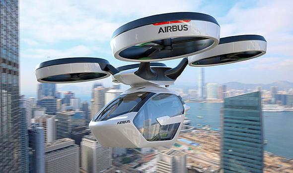 An Airbus flying car (illustartion). Photo: Airbus