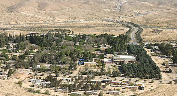 Israel's Negev area. Photo: Ramat Negev Regional Council