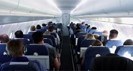 נוסעים מטוס טיסה, צילום: שאטרסטוק