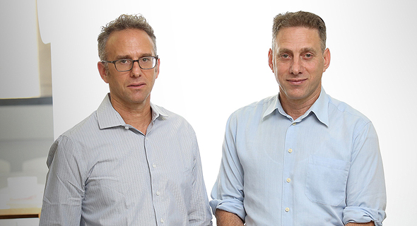 Left to right: two of Behalf's founders, Benjy and Shai Feinberg. Photo: Tamuz Rachman