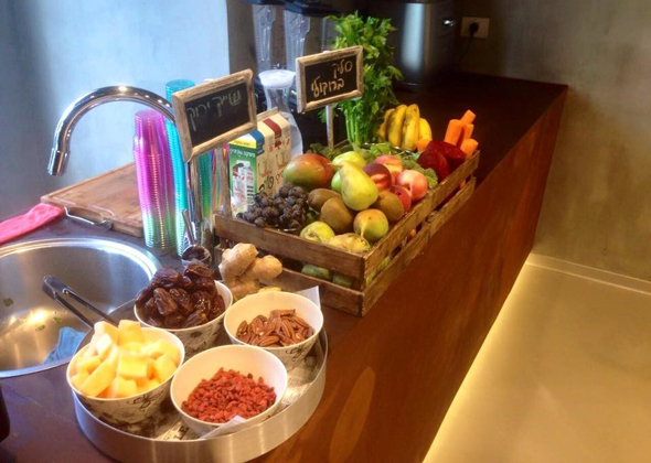 ארוחת בוקר בריאות בפלייטיקה.