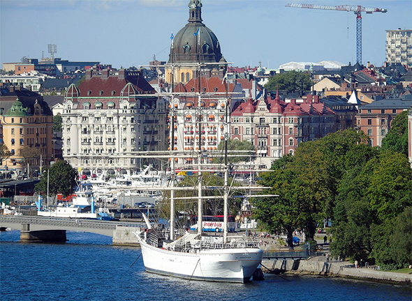 שטוקהולם. צפויה ירידה נוספת של 15-10 אחוזים במחירי הדירות   , צילום: Ljusetitunneln/Pixabay