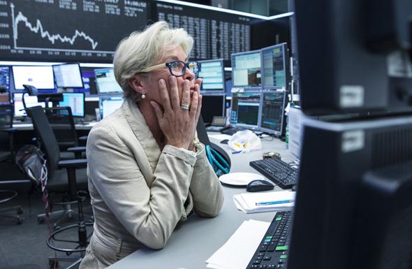 ירידות שערים בבורסה