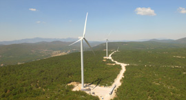 Wind turbines. Photo: Enlight Renewable Energy Ltd.