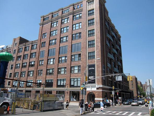 צ'לסי מרקט ניו יורק גוגל, צילום: ויקיפדיה