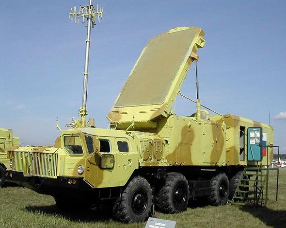 """מכ""""מ של מערכת טילי S300 רוסית"""