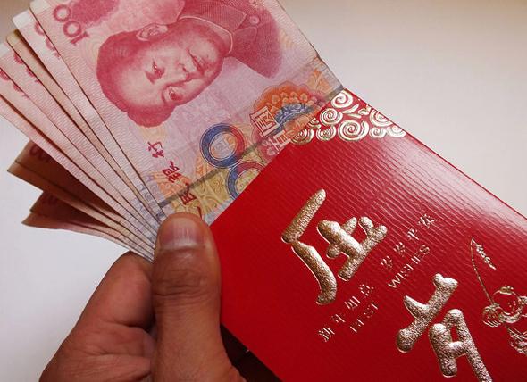 מעטפות עם כסף לראש השנה הסיני , צילום: china daily