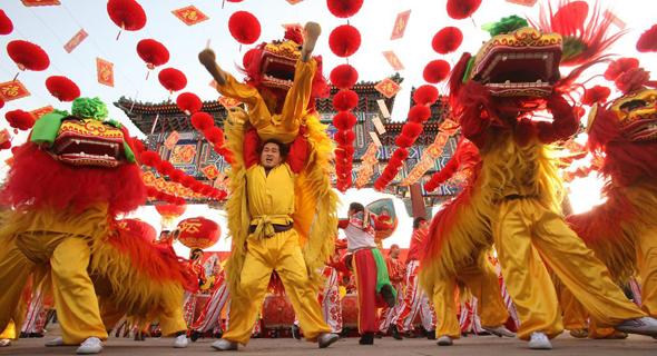 חגיגות בסין, צילום: Moneyinc