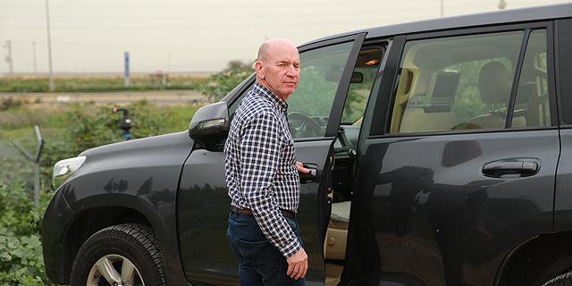 ישראל שפירא, מבעלי שפיר הנדסה יוצא מחקירה בלהב 433, צילום: אוראל כהן