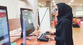 ערבים מחשבים ערבייה מחשב, צילום: שאטרסטוק