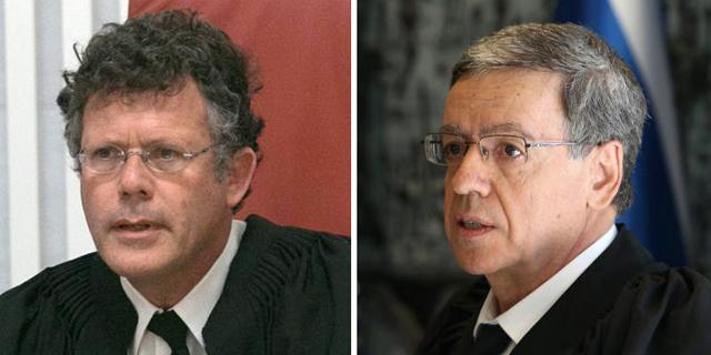 שופטי העליון מזוז ועמית, צילומים: עמית שאבי, אוהד צויגנברג