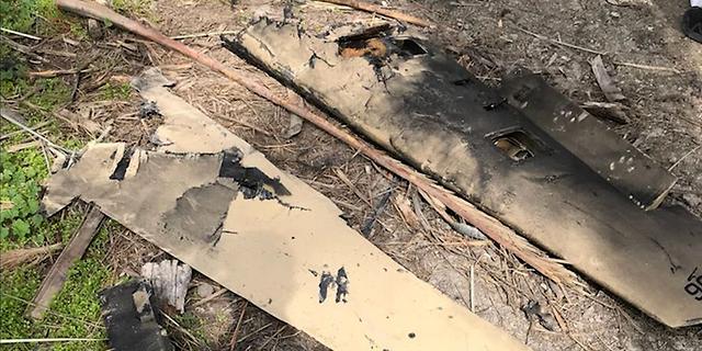 """צה""""ל חושף: המל""""ט האיראני שיורט נשא חומר נפץ להפעלה בישראל"""