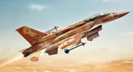 מטוס קרב F16 סופה, צילום: goodfon