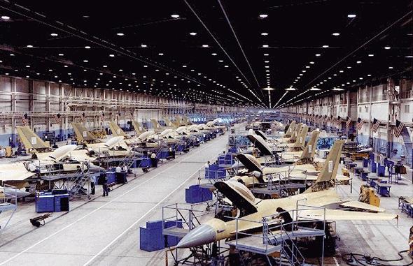 כאן בונים. פעילות ה-F16 שבבעלות לוקהיד מרטין