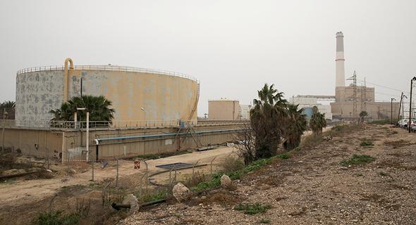 השטח בתל ברוך, כולל מכל דלק של חברת החשמל. יצורף לתוכנית הסמוכה, צילום: ענר גרין