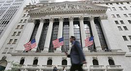 בורסה ניו יורק וול סטריט NYSE, צילום: איי פי
