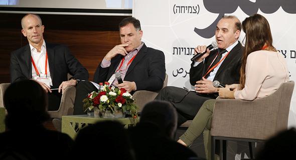 מימין: נטע לי בינשטוק, זיאד עומרי, איציק צאיג, ניצן לביא