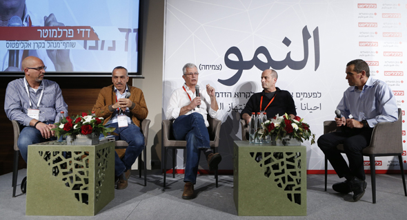 מימין: מאיר אורבך, גדי מזור, דדי פרלמוטר, זיאד חנא ופאדי סוידאן
