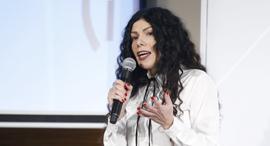 פרידה גאבר עורכת אתר panet כנס עסקים של החברה הערבית, צילום: עמית שעל