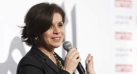 דליה פדילה מייסדת ומנהלת קיו סקולס כנס עסקים של החברה הערבית, צילום: עמית שעל