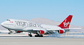 מטוס חברת תעופה וירג'ין אטלנטיק, צילום: ויקיפדיה