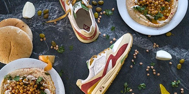 A Sneaker Design Inspired by Hummus