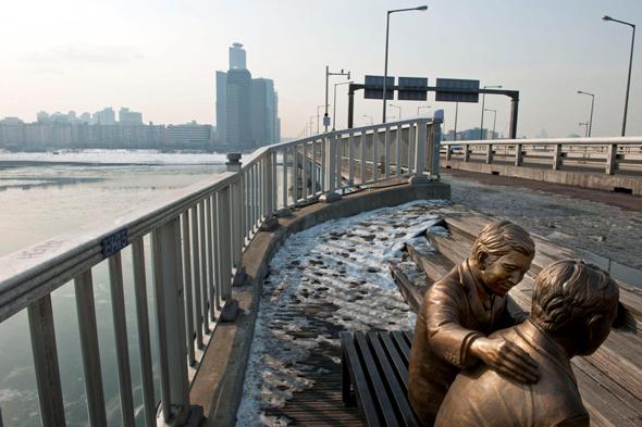 גשר מאפו בסיאול. סמסונג מיתגו אותו מחדש