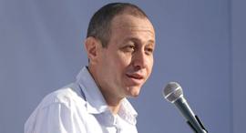כנס עכו 19.6.19  ראש עיריית עכו שמעון לנקרי, צילום: עמית שעל
