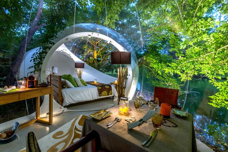 , צילום: Bubble Lodge