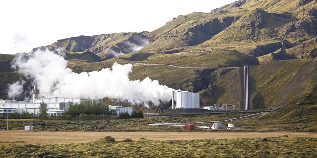 תחנת כוח גיאו תרמית ב איסלנד, צילום: בלומברג