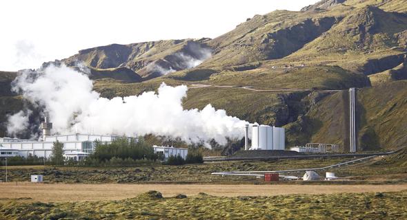תחנת כוח גיאו תרמית באיסלנד
