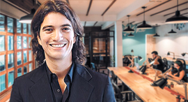 WeWork Chief Executive Adam Neumann. Photo: Agustin Munoz