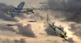 תקיפת התאבדות נאצית, צילום: Kamikaze